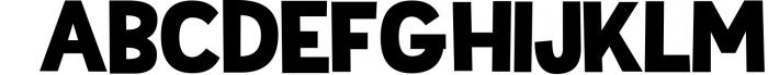 Sportsball - fun font with alternates! 3 Font UPPERCASE