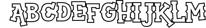 Sportsball - fun font with alternates! 4 Font LOWERCASE