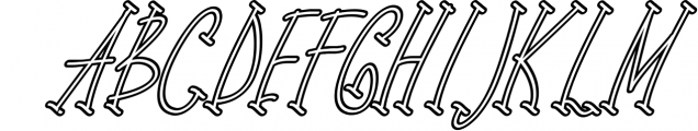 sports time 3 Font UPPERCASE
