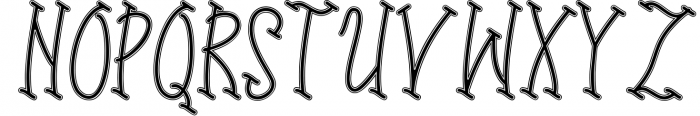 sports time 4 Font UPPERCASE