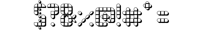 SPACE PEZ 3D Font OTHER CHARS
