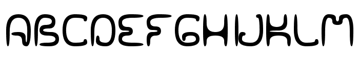 SPACEWORM02 Font UPPERCASE