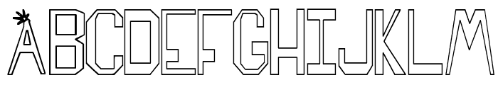 SPARKS MADE US Font LOWERCASE