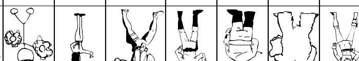 SPARKS Scrapbook Font UPPERCASE