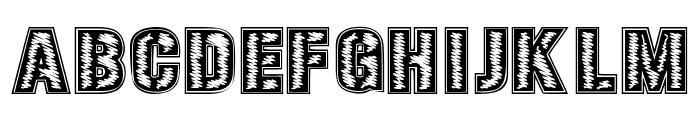 SPECIAL UNIT Font UPPERCASE