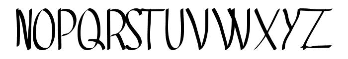 SPIDER GOTIC Font UPPERCASE