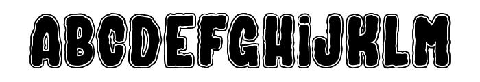 SPIRIT & GHOST Font UPPERCASE