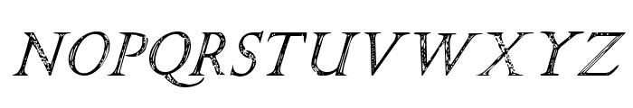 SPQR Italic Font LOWERCASE