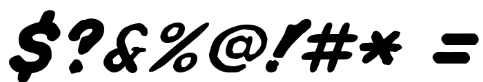 Spa Fon! Font OTHER CHARS