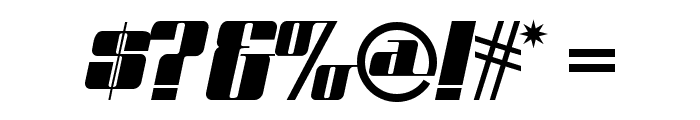 Space Cadet NF Font OTHER CHARS