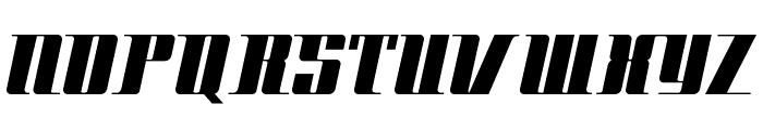 Space Cadet NF Font UPPERCASE