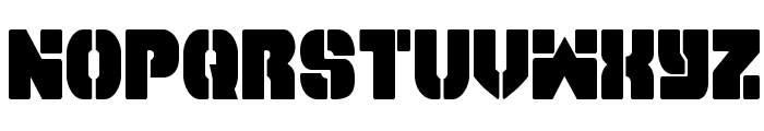 Space Cruiser Condensed Font LOWERCASE