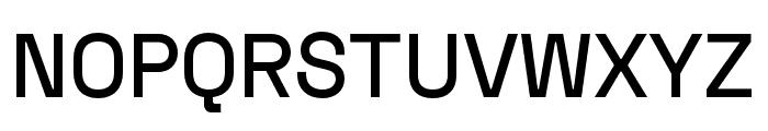 Space Grotesk Medium Font UPPERCASE