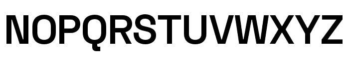 Space Grotesk SemiBold Font UPPERCASE