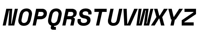 Space Mono Bold Italic Font UPPERCASE