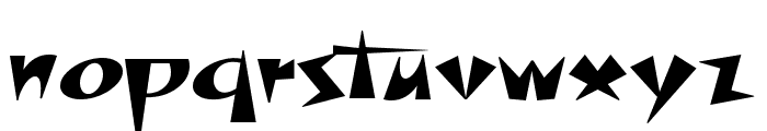 Space Patrol NF Font LOWERCASE
