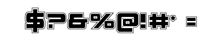 Space Ranger Academy Regular Font OTHER CHARS