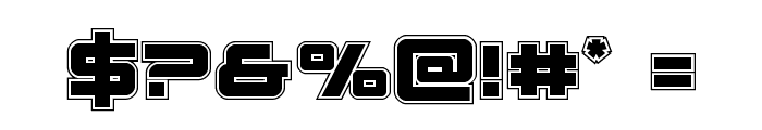 Space Ranger Academy Font OTHER CHARS