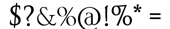 Space and Astronomy Font OTHER CHARS
