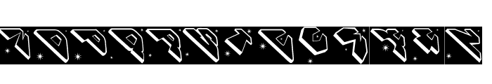 SpaceAttackTwo Font UPPERCASE