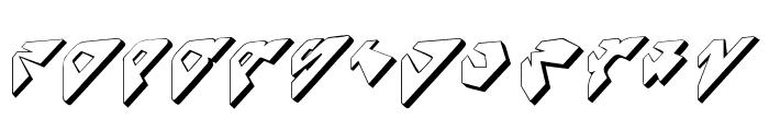 SpaceAttacks Font LOWERCASE