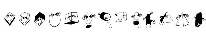 SpaceBeings Font LOWERCASE