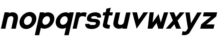SpaceCapitan-Italic Font LOWERCASE