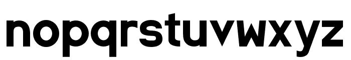SpaceCapitan-Regular Font LOWERCASE