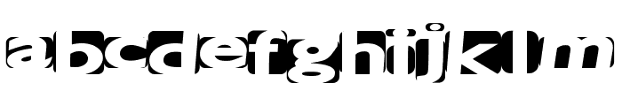 SpaceCats Font LOWERCASE