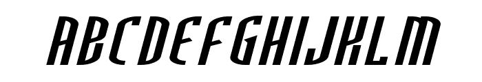 SpaceCowboyOblique Font LOWERCASE