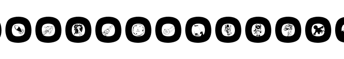 SpaceEggs Font UPPERCASE