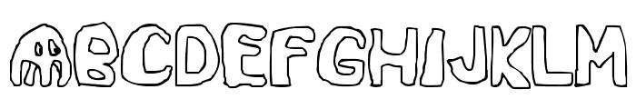 SpaceGame-Regular Font UPPERCASE