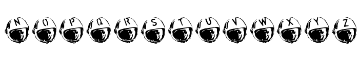 SpaceJunk BlastOff Font UPPERCASE