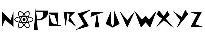 SpacePatrol Font UPPERCASE