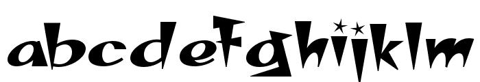 SpacePatrol Font LOWERCASE