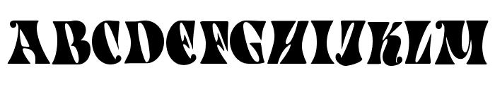 Spacearella Font UPPERCASE