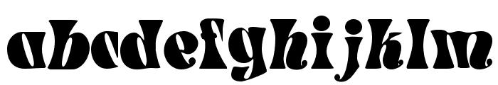 Spacearella Font LOWERCASE