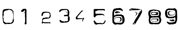 Spacesuit Font OTHER CHARS