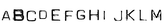 Spacesuit Font LOWERCASE