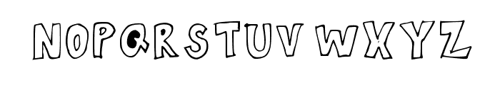 Spaghetti Medium Font UPPERCASE