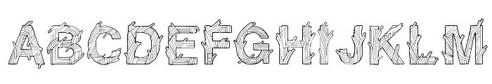 SpaghetticaRegular Font UPPERCASE