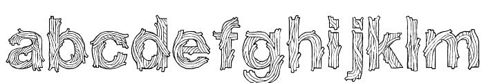 SpaghetticaRegular Font LOWERCASE