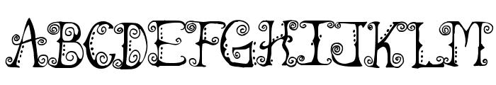 Spahrty Girl Font UPPERCASE