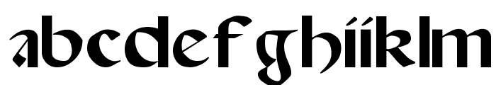 Spanish-Round-Bookhand--16th-c- Font LOWERCASE