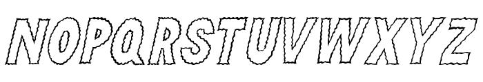 Sparkle Font LOWERCASE
