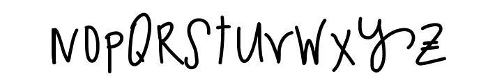 SparklingSoda Font LOWERCASE