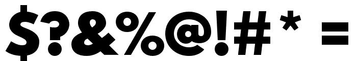 Spartan MB Black Font OTHER CHARS