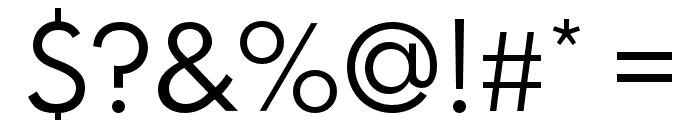 Spartan MB Regular Font OTHER CHARS
