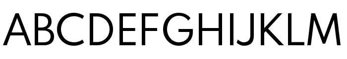 Spartan MB Regular Font UPPERCASE