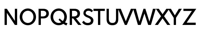 Spartan MB SemiBold Font UPPERCASE